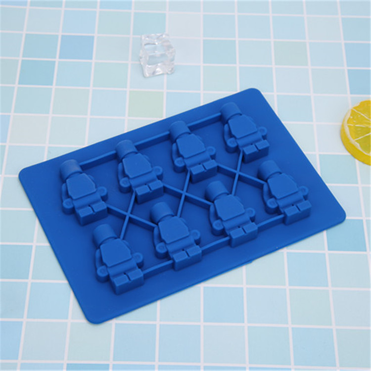Silicone Double Row Household Cartoon Cake Mold